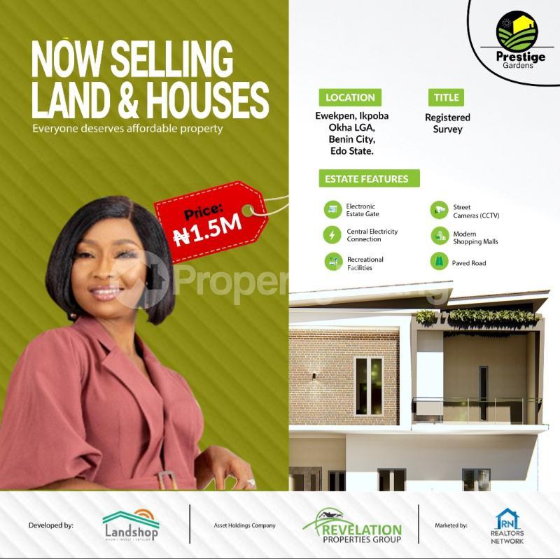 Mixed   Use Land Land for sale Ewekpen, Ikpoba Okha LGA, Along Benin Industrial Park Road Ukpoba Edo - 1