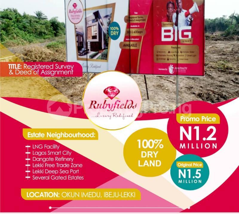 Mixed   Use Land Land for sale Located At Okun Imedu Ibeju Lekki Lagos Nigeria Ise town Ibeju-Lekki Lagos - 7