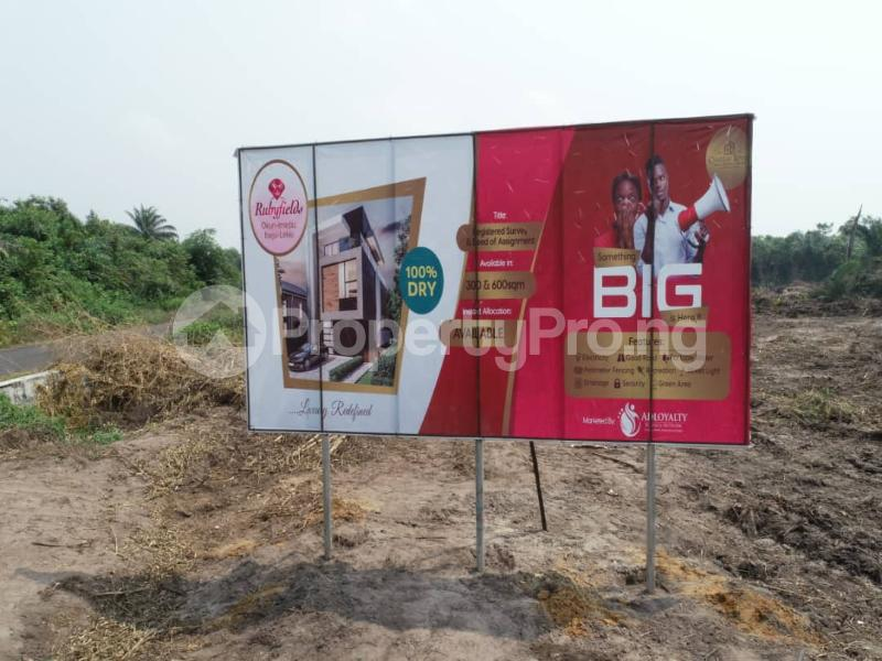 Mixed   Use Land Land for sale Located At Okun Imedu Ibeju Lekki Lagos Nigeria Ise town Ibeju-Lekki Lagos - 5