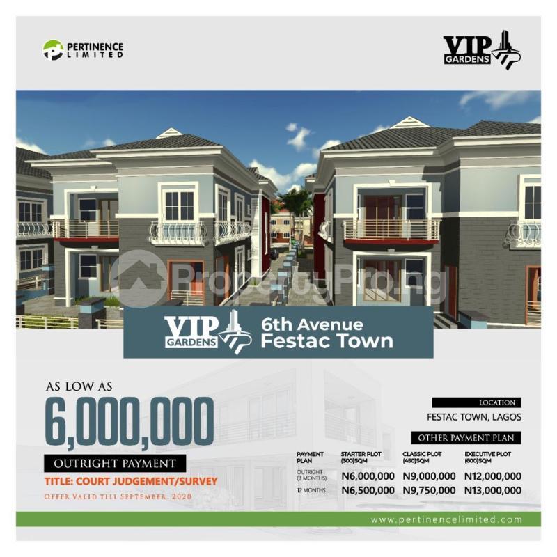 Residential Land Land for sale  6th Avenue Festac Amuwo Odofin Lagos - 0