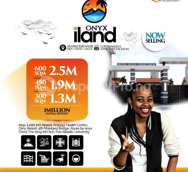 Residential Land for sale Onyx Iland, Arapagi Elerangbe Eleranigbe Ibeju-Lekki Lagos - 4