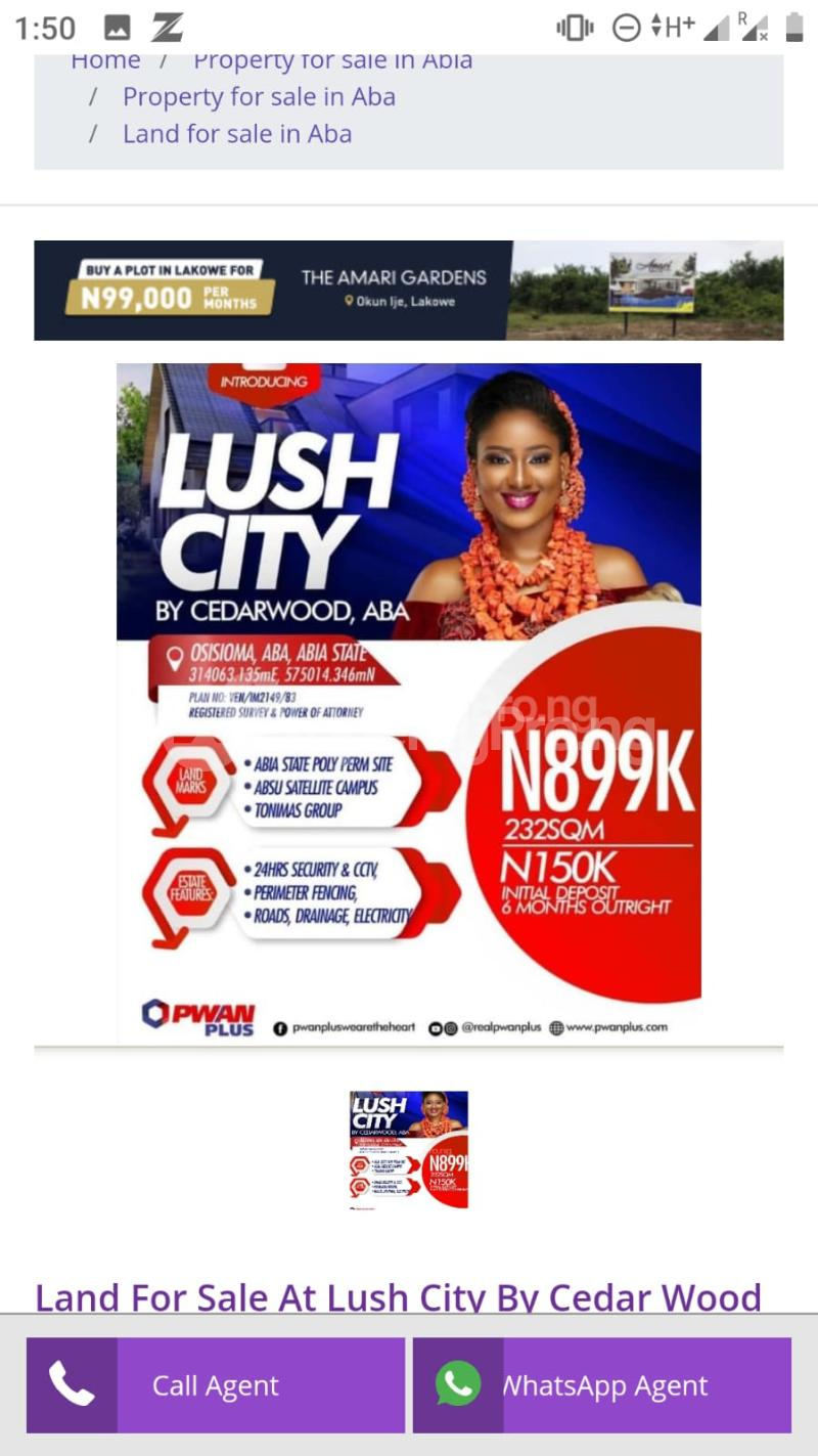 Mixed   Use Land Land for sale Osisioma Aba Abia - 1