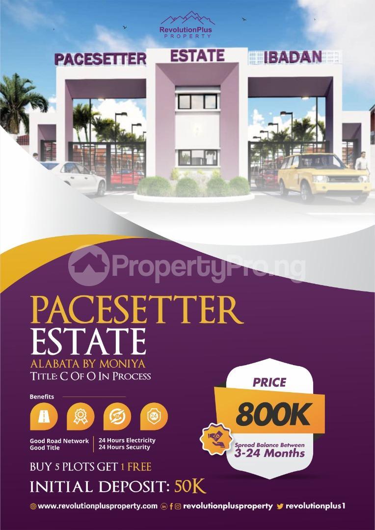 Residential Land for sale 7 Minutes From Moniya Moniya Ibadan Oyo - 0