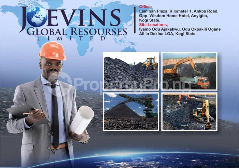 Industrial Land for sale Iyamo Odu Ajakakwu, Odu Okpakili Ogane Dekina Kogi - 0