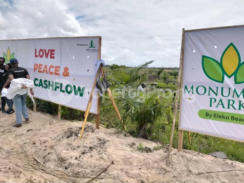 Serviced Residential Land for sale By Eleko Beach Eleko Ibeju-Lekki Lagos - 2