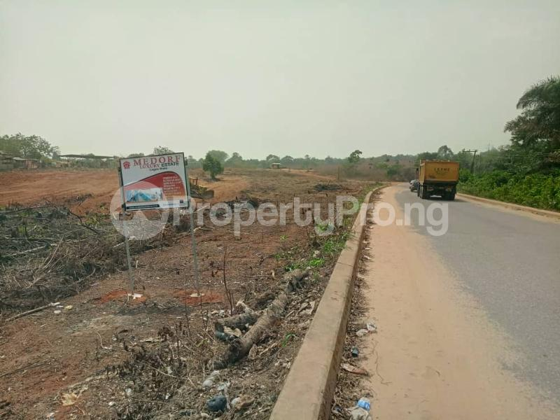 Serviced Residential Land Land for sale Directly Along Lekki Epe Express Epe Road Epe Lagos - 1