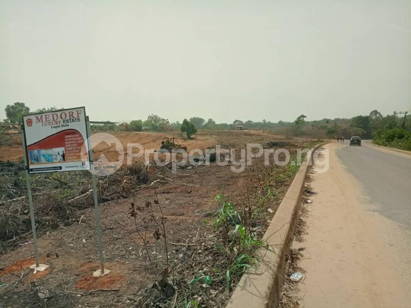 Serviced Residential Land Land for sale Directly Along Lekki Epe Express Epe Road Epe Lagos - 3