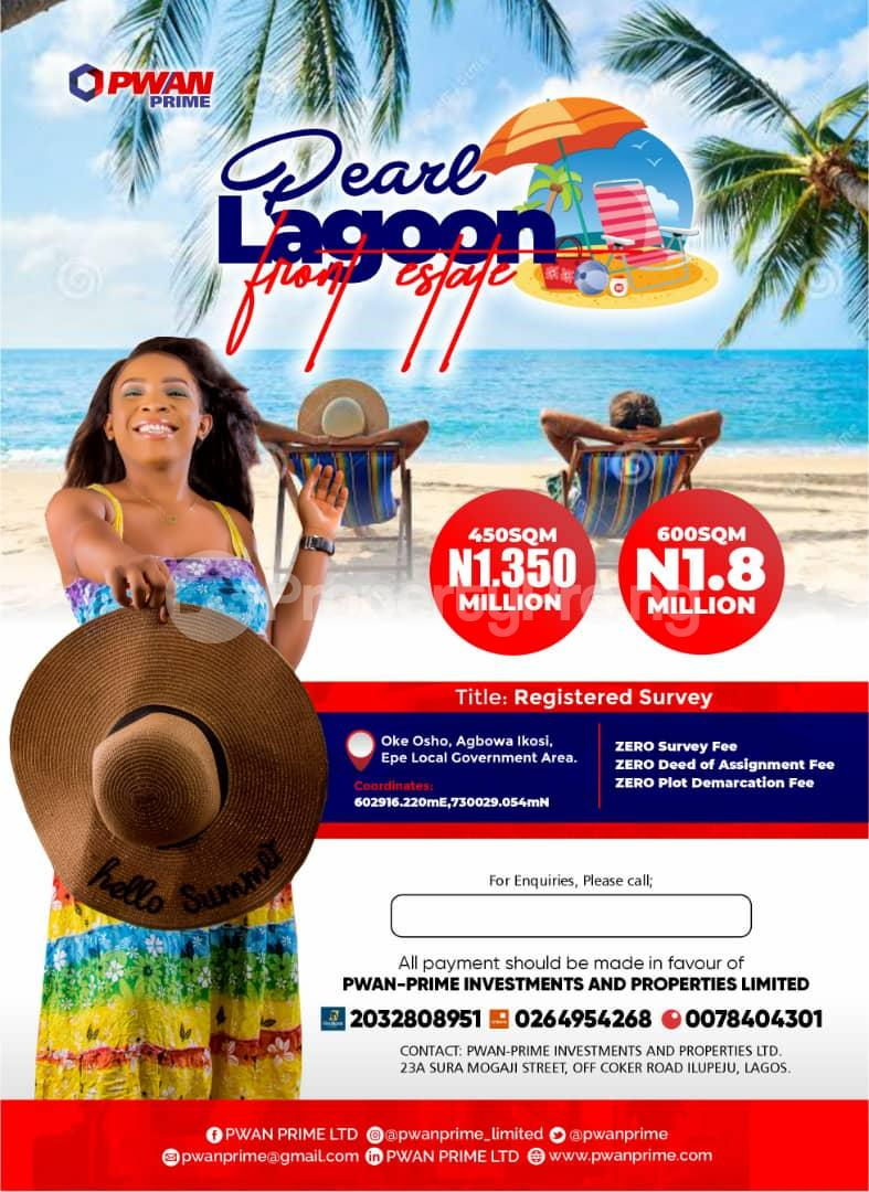 Mixed   Use Land for sale Pearl Lagoon Front Estate Epe Lagos - 0