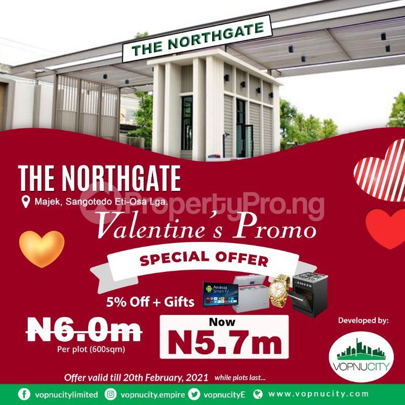 Serviced Residential Land Land for sale Opposite Fara Park Estate Majek Sangotedo Lagos - 0
