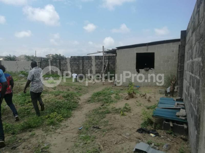 Mixed   Use Land Land for sale Immediate Turn Opposite Royal Palm Suite After Mayfair Garden Estate, Awoyaya Ajah Lagos - 2