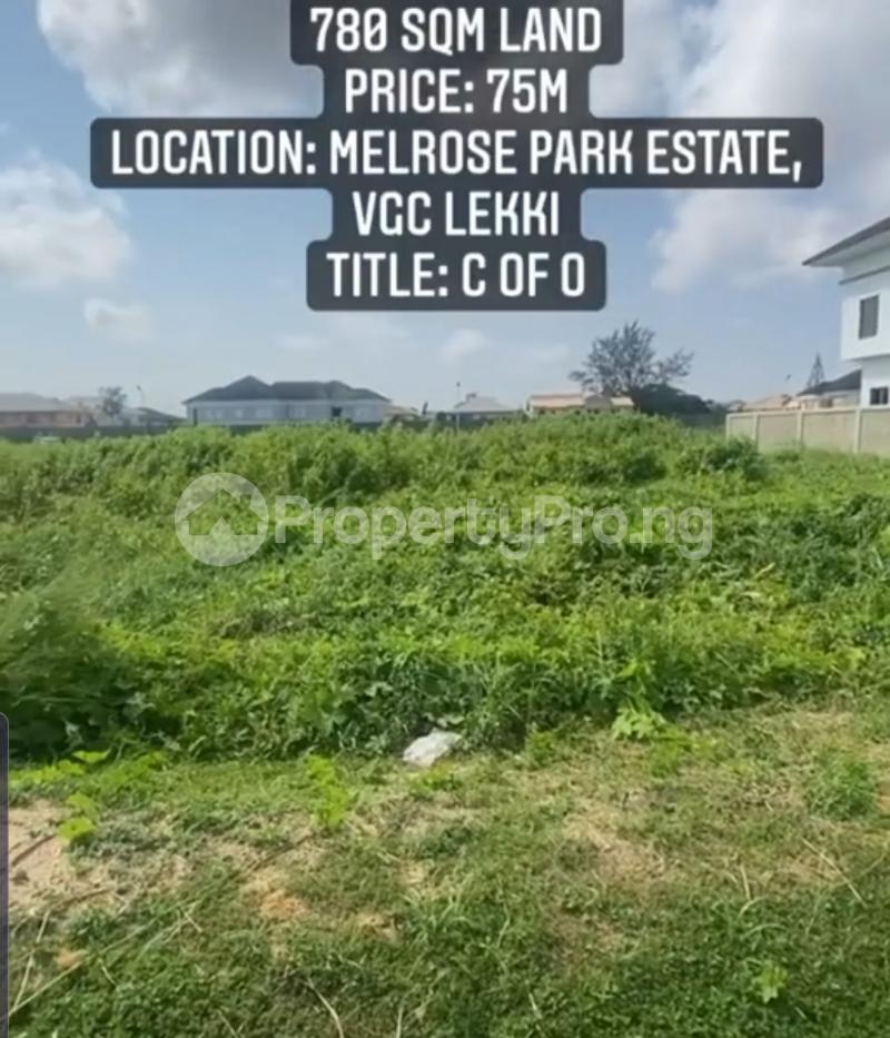 Residential Land Land for sale Melrose Park Estate, VGC Lekki Lagos - 2