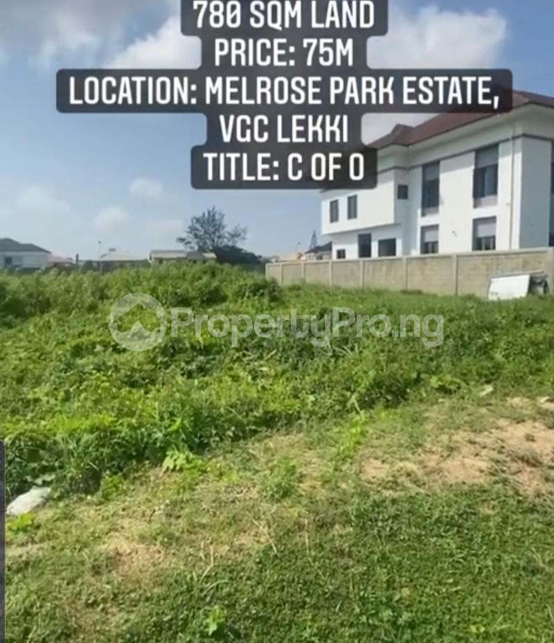 Residential Land Land for sale Melrose Park Estate, VGC Lekki Lagos - 1
