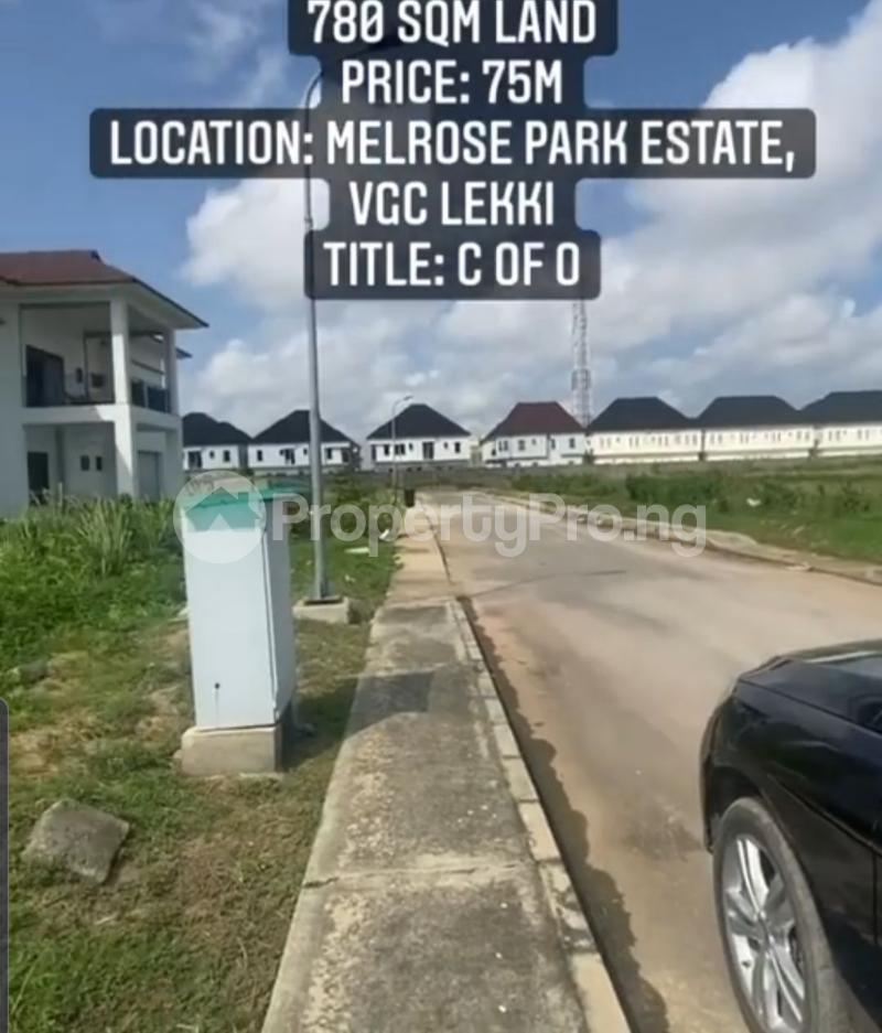 Residential Land Land for sale Melrose Park Estate, VGC Lekki Lagos - 0