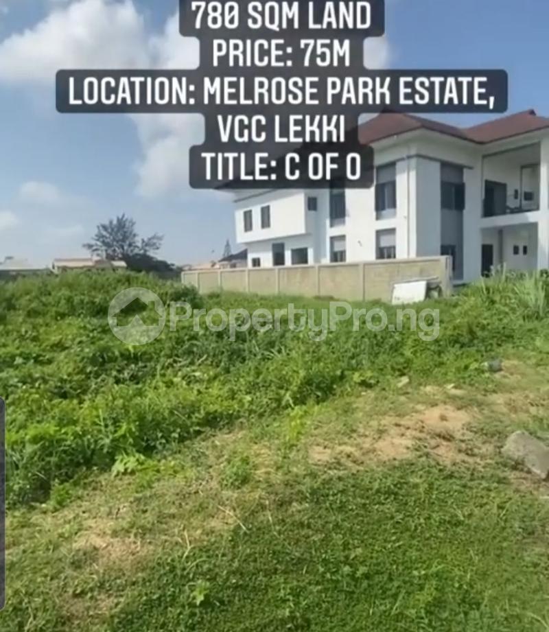 Residential Land Land for sale Melrose Park Estate, VGC Lekki Lagos - 3