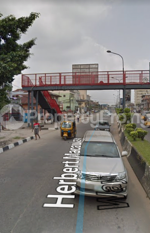 Commercial Land Land for sale directly along Herbert Macaulay way (facing the road), Yaba Lagos - 0