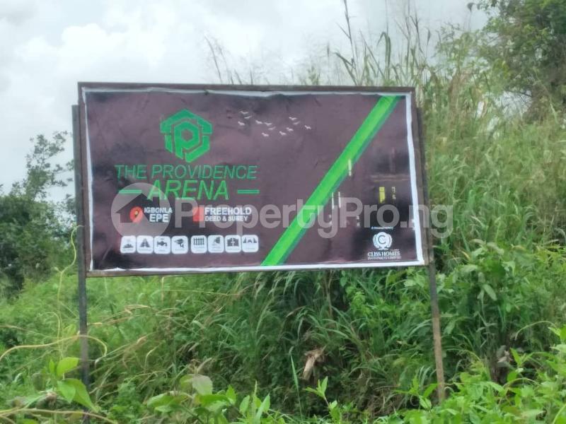 Mixed   Use Land for sale Igbonla Along Saint Augustine University Road Epe Lagos - 2
