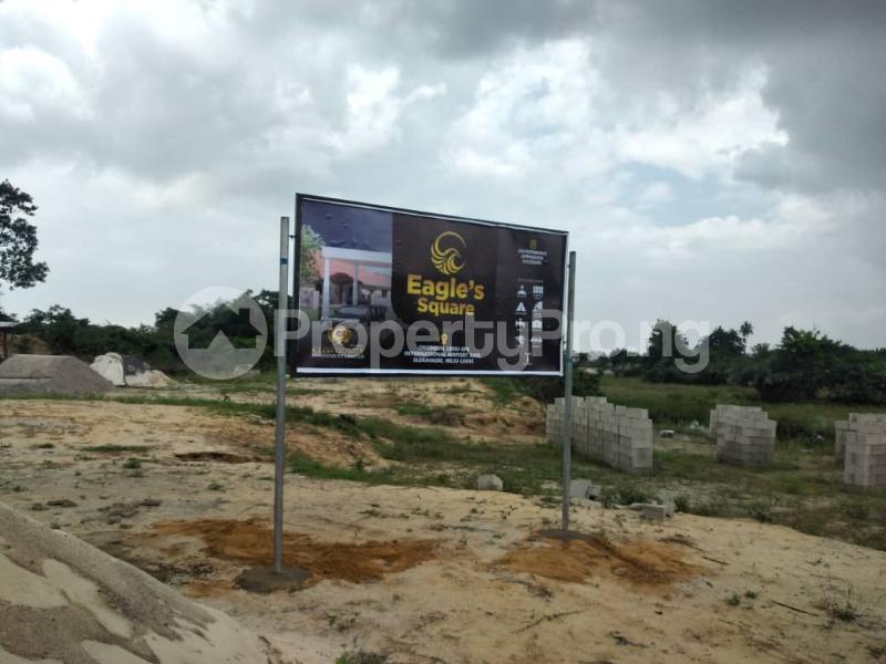 Residential Land for sale Eagle's Square Estate, Oke Ogun Within Airport Area. Ibeju-Lekki Lagos - 4