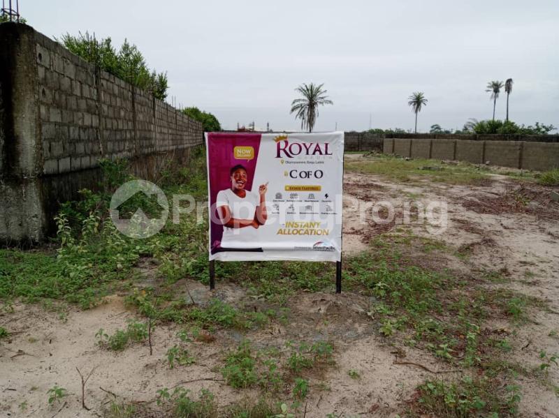 Residential Land Land for sale Royal Garden Estate. Directly Facing The Coastal Line. Free Trade Zone Ibeju-Lekki Lagos - 4