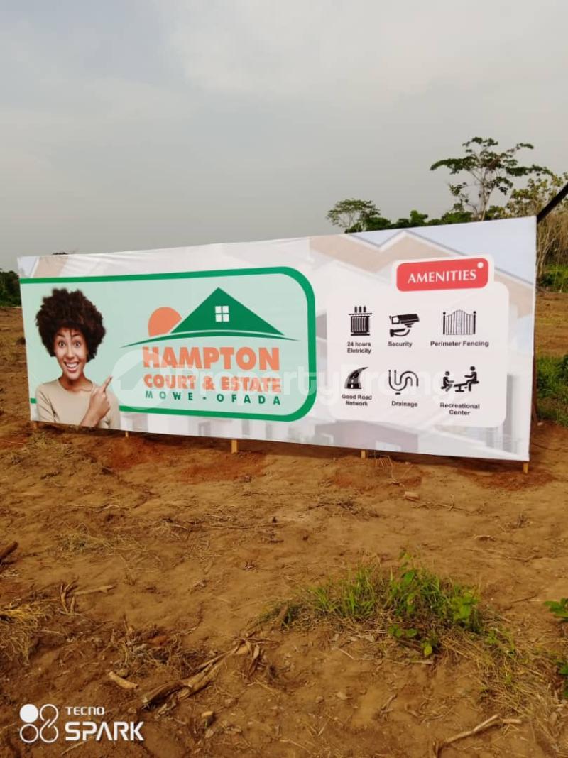 Residential Land Land for sale Hampton Court Estate. Mowe Obafemi Owode Ogun - 3