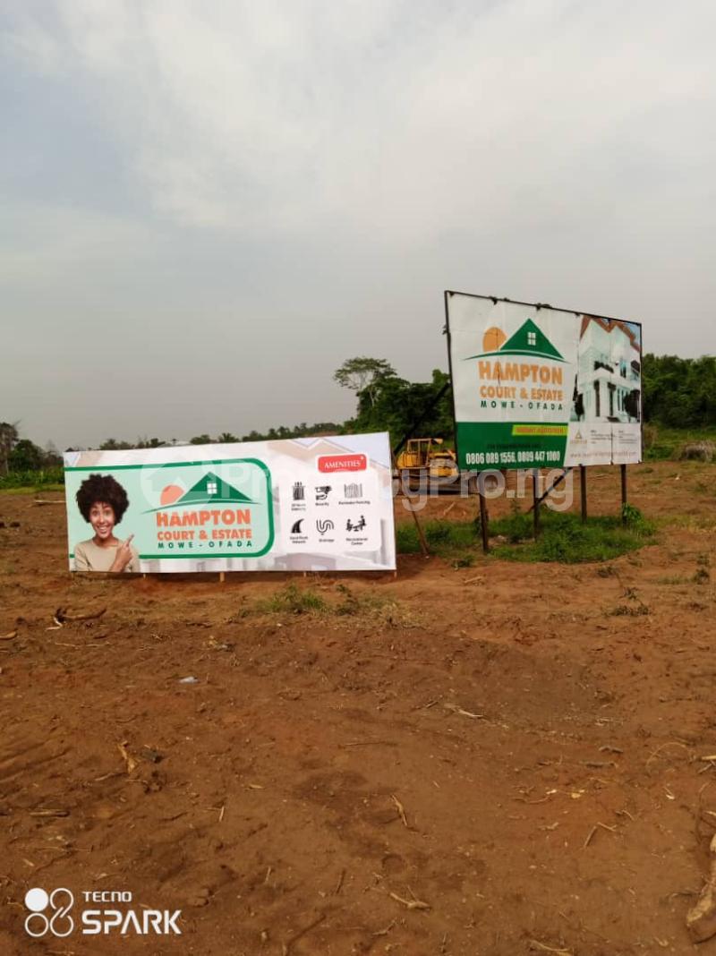 Residential Land Land for sale Hampton Court Estate. Mowe Obafemi Owode Ogun - 1