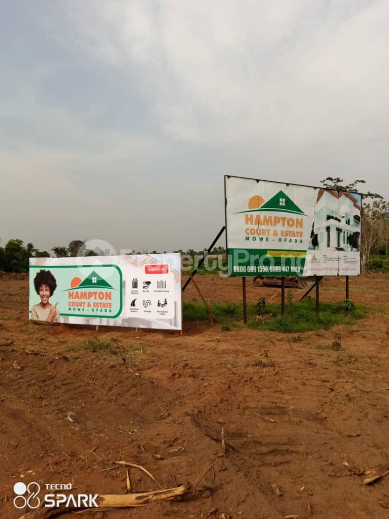 Residential Land Land for sale Hampton Court Estate. Mowe Obafemi Owode Ogun - 2