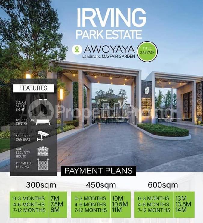 Residential Land for sale Oribanwa Awoyaya Ajah Lagos - 1