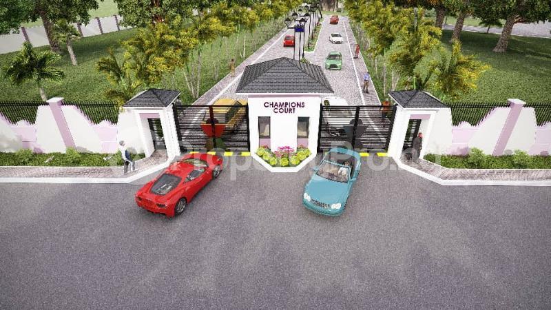 Residential Land for sale Located Behind Amen Phase 1 Kayetoro Eleko Ibeju Lekki Lagos Eleko Ibeju-Lekki Lagos - 3