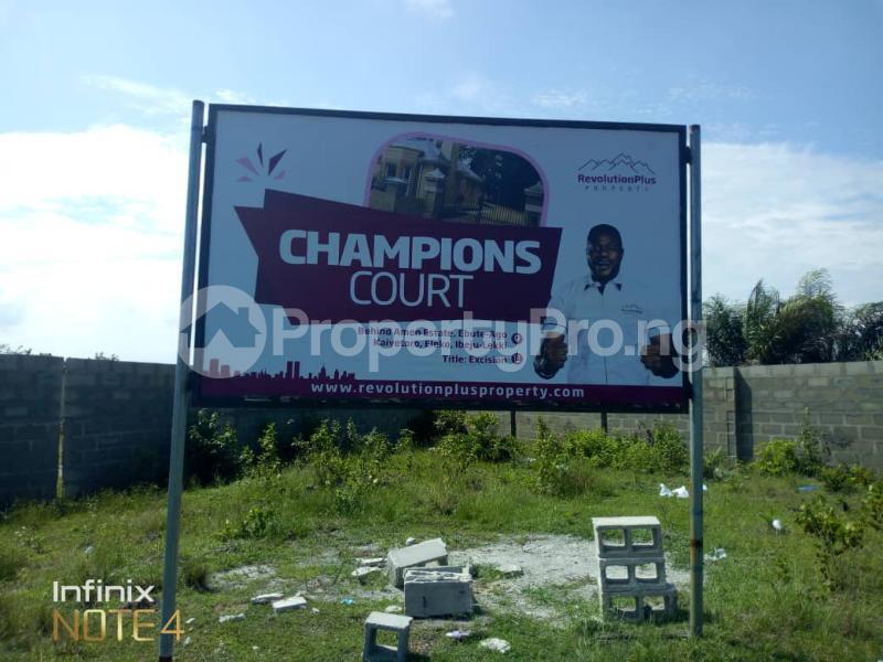 Residential Land Land for sale Eleko junction behind Amen estate Eleko Ibeju-Lekki Lagos - 4
