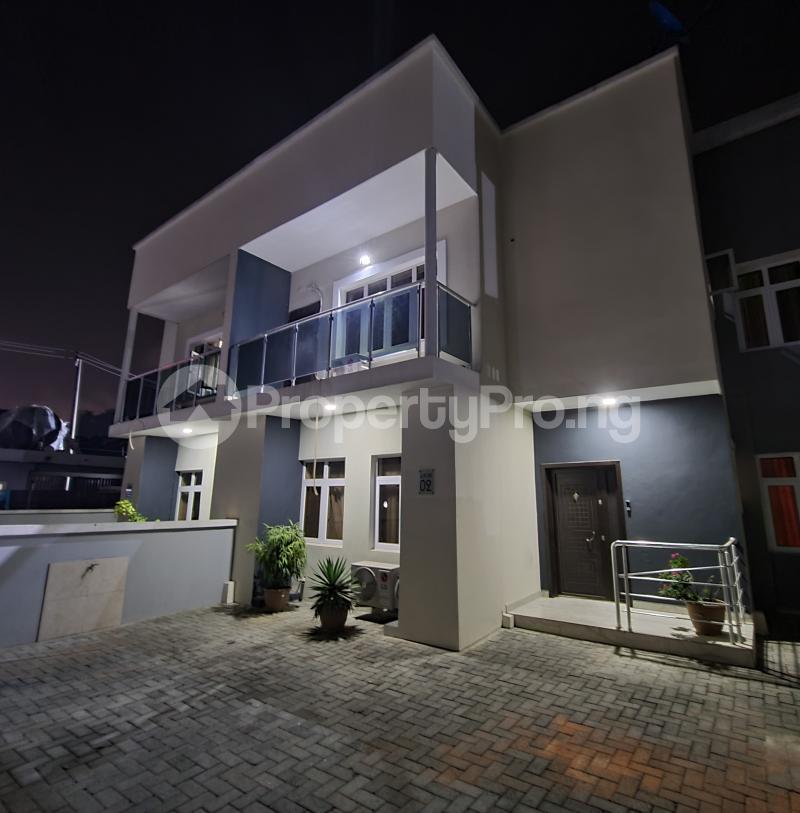 4 bedroom Semi Detached Duplex House for shortlet Dideolu estate ONIRU Victoria Island Lagos - 1