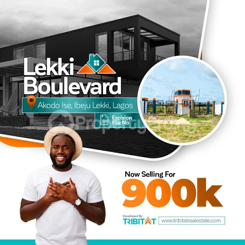 Residential Land for sale Owode Ise 3 Minutes Drive From La Campagne Tropicana Resorts Akodo Ise Ibeju-Lekki Lagos - 0