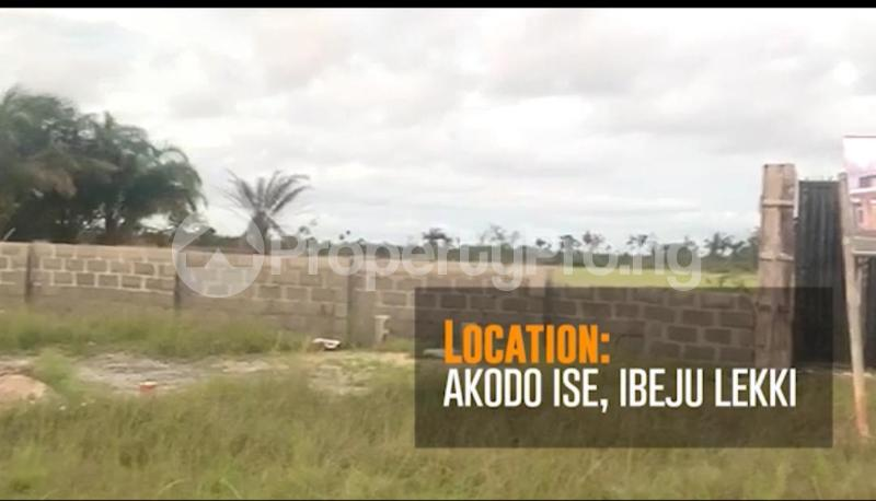 Mixed   Use Land for sale Akodo Ise, 5 Minutes Drive From La Campagne Tropicana Beach Resort. Akodo Ise Ibeju-Lekki Lagos - 2