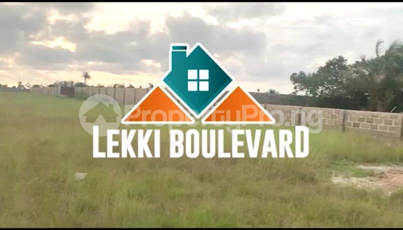 Mixed   Use Land for sale Akodo Ise, 5 Minutes Drive From La Campagne Tropicana Beach Resort. Akodo Ise Ibeju-Lekki Lagos - 1
