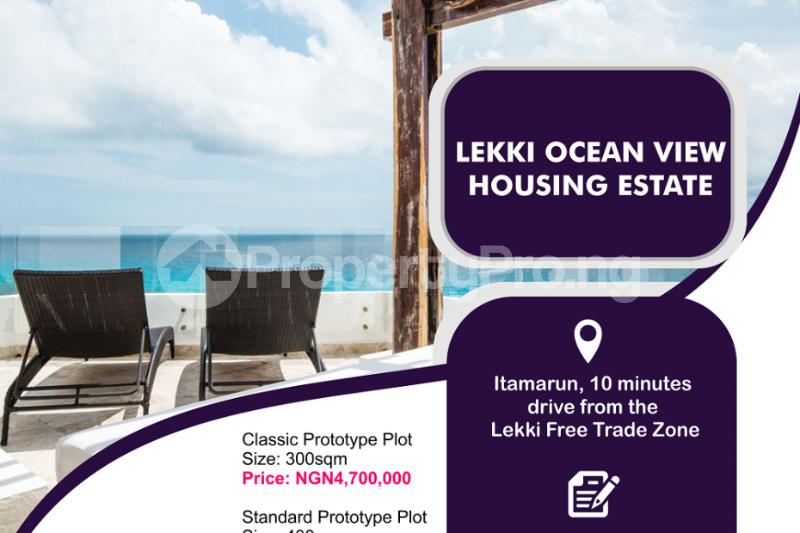 Mixed   Use Land for sale Itamarun, 10 Minutes Drive From The Lekki Free Trade Zone. Free Trade Zone Ibeju-Lekki Lagos - 0