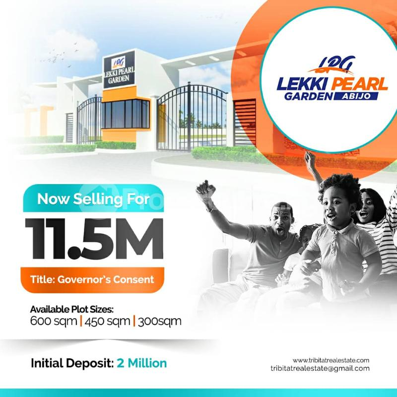 Residential Land Land for sale Abijo, behind Amity estate which is 1 minute drive from lekki epe expressway Lekki Lagos - 1