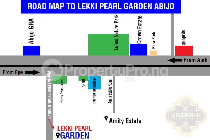 Residential Land Land for sale Behind Amity Estate adjacent Abijo GRA Abijo Ajah Lagos - 3