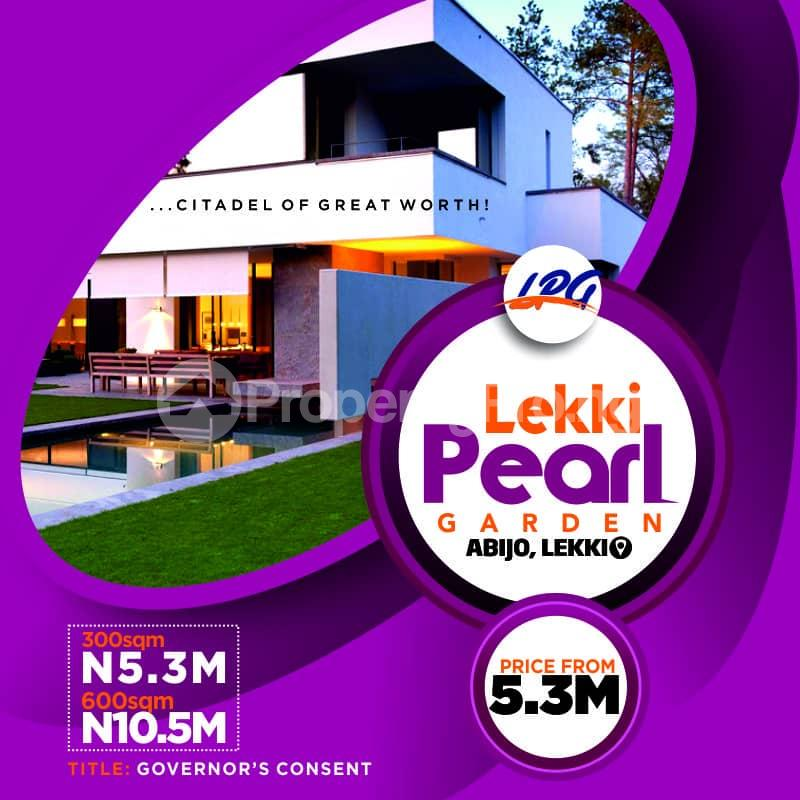 Residential Land Land for sale Behind Amity Estate adjacent Abijo GRA Abijo Ajah Lagos - 1
