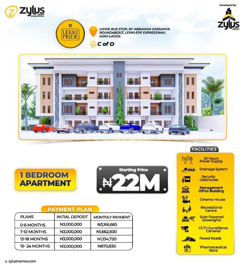 Blocks of Flats for sale 1bedroom Apartment Abraham adesanya estate Ajah Lagos - 0