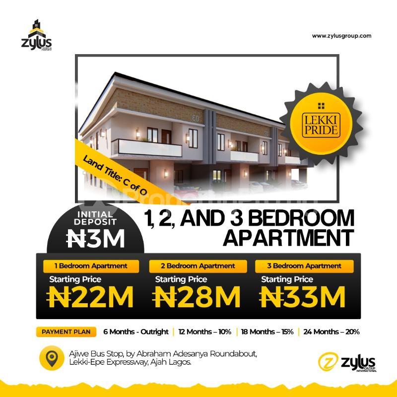 1 bedroom Blocks of Flats for sale Lekki Pride Estate Abraham adesanya estate Ajah Lagos - 0