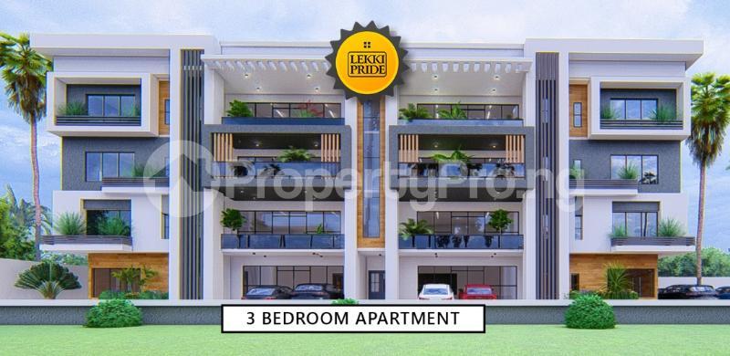 3 bedroom Blocks of Flats for sale Lekki Pride Estate Abraham adesanya estate Ajah Lagos - 2