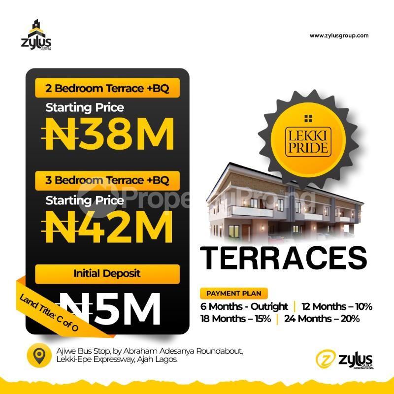 1 bedroom Blocks of Flats for sale Lekki Pride Estate Abraham adesanya estate Ajah Lagos - 2