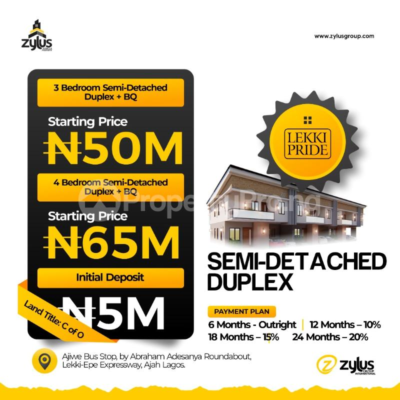 1 bedroom Blocks of Flats for sale Lekki Pride Estate Abraham adesanya estate Ajah Lagos - 1