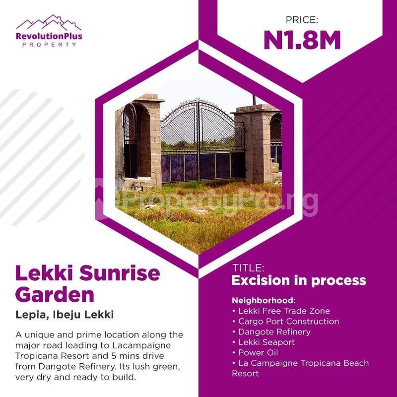 Land for sale LaCampaigne Tropicana Ibeju-Lekki Lagos - 4