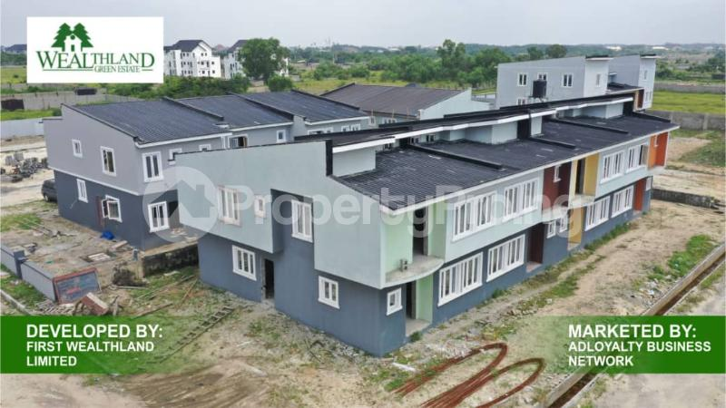 Terraced Bungalow House for sale Oribanwa Awoyaya Ajah Lagos - 3