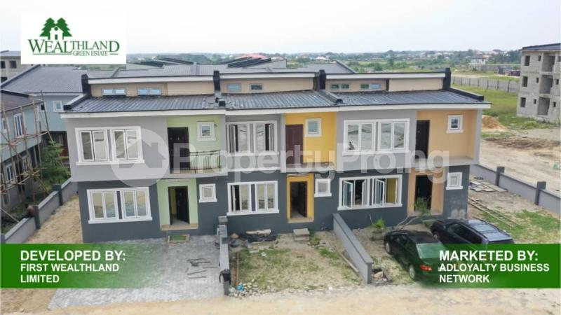 Terraced Bungalow House for sale Oribanwa Awoyaya Ajah Lagos - 1