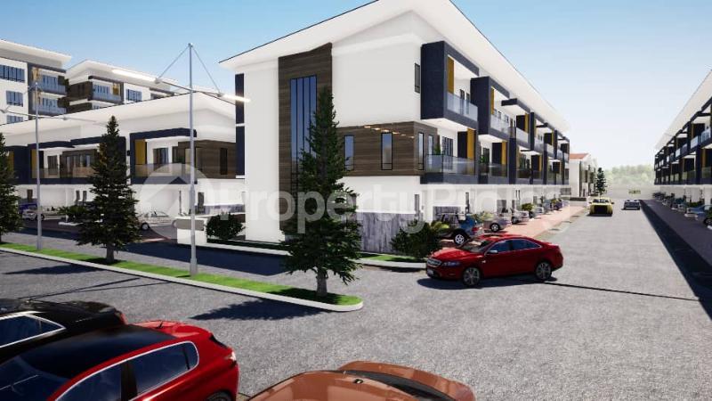 4 bedroom Terraced Duplex House for sale After Ikate Elegushi, Opposite Nicon Town, Behind Romey Gardens, Lekki Phase 1 Lekki Phase 1 Lekki Lagos - 1