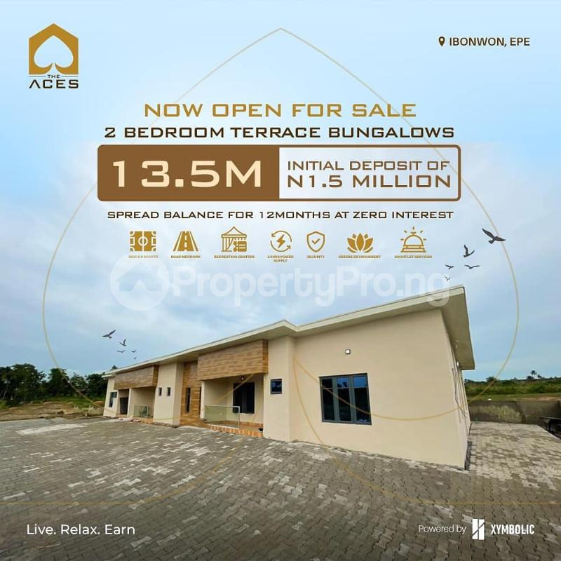 2 bedroom Terraced Bungalow for sale Ibowon Epe Epe Road Epe Lagos - 0