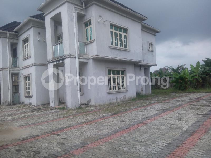 4 bedroom Detached Duplex House for sale Straight Close,Off Rumudara Road,Rumunduru Portharcourt East West Road Port Harcourt Rivers - 0