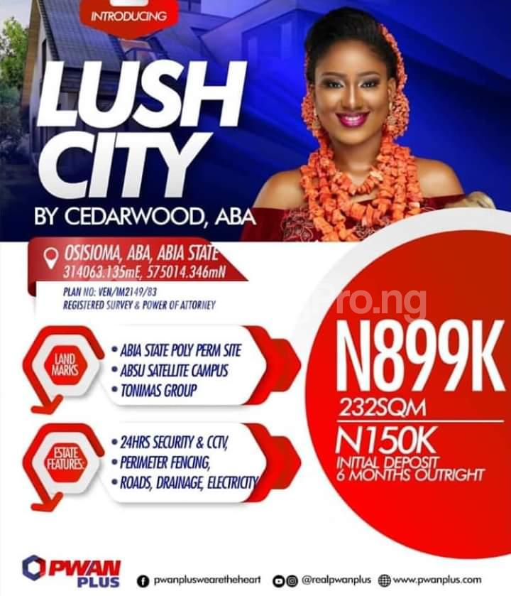 Serviced Residential Land for sale Osisioma Abia - 0