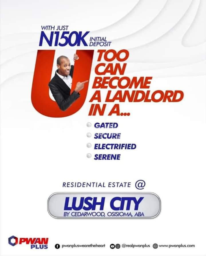 Serviced Residential Land for sale Osisioma Abia - 1