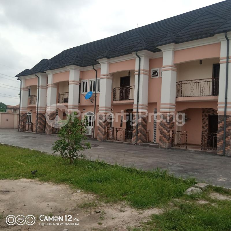 2 bedroom Semi Detached Duplex for rent Rukpokwu Road Estate Eliozu Port Harcourt Rivers - 0